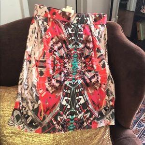 Anthropologie body con skirt
